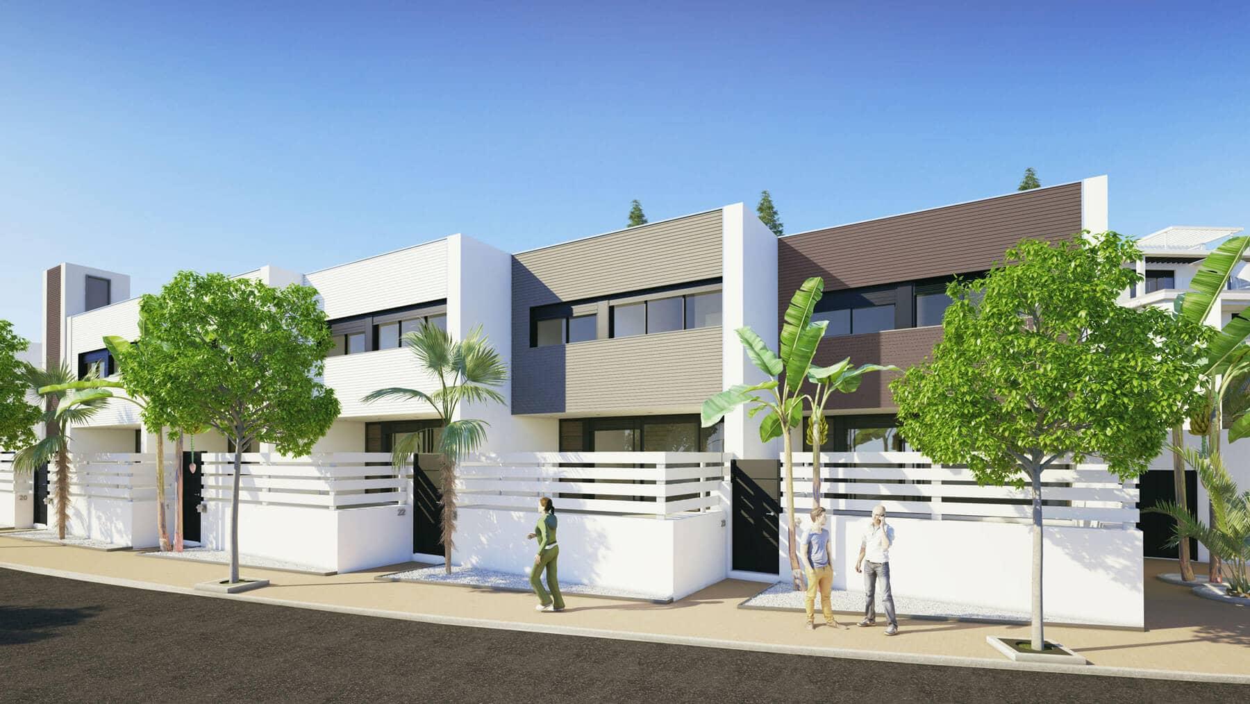 Le mirage: moderne huizen op wandelafstand van faciliteiten cancelada