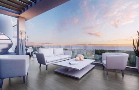 Le Mirage: moderne huizen op wandelafstand van faciliteiten (Cancelada)