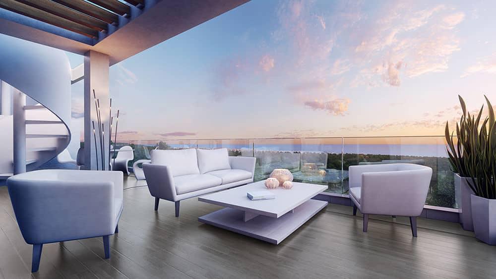 le mirage estepona cancelada huis te koop terrassen