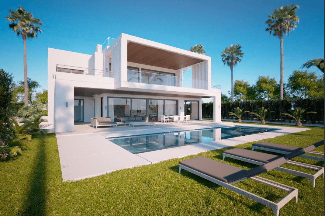 los olivos nueva andalucia marbella modern villa project design