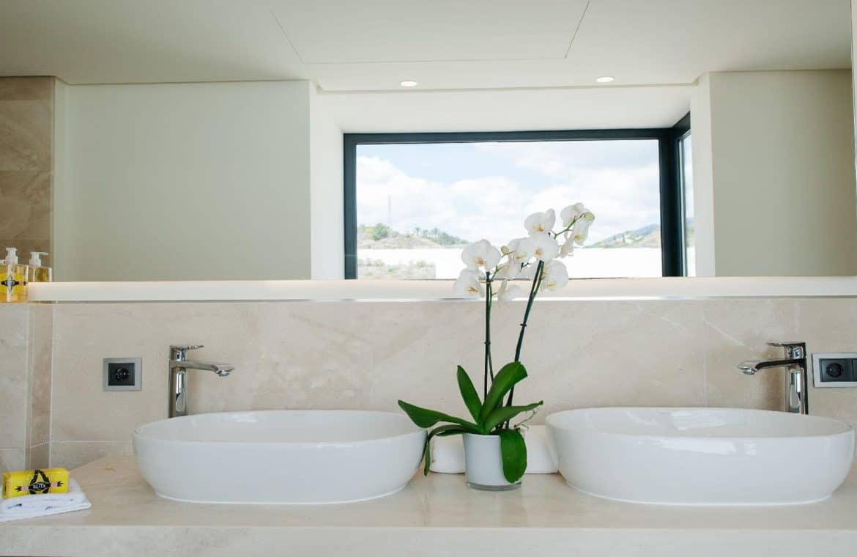 los olivos nueva andalucia marbella modern villa project lavabo
