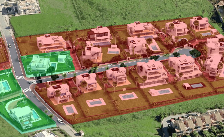 los olivos nueva andalucia marbella modern villa project overzicht
