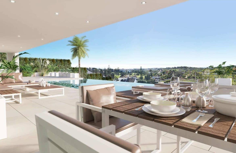 los olivos nueva andalucia marbella modern villa project terras