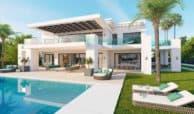 los olivos nueva andalucia marbella modern villa project tuin