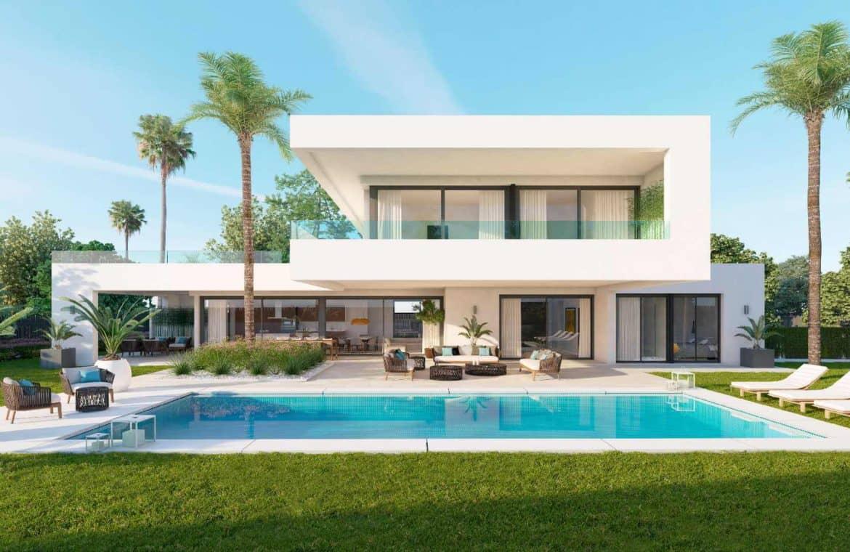 los olivos nueva andalucia marbella modern villa project zwembad