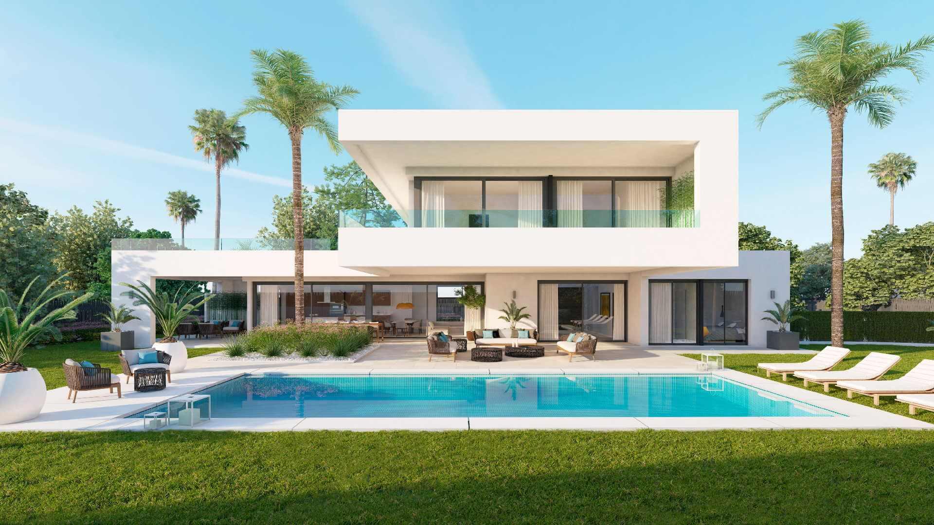 los olivos exclusieve villa 39 s in een residenti le setting. Black Bedroom Furniture Sets. Home Design Ideas