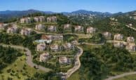 marbella club hills benahavis new golden mile appartementen penthouses te koop zeezicht project