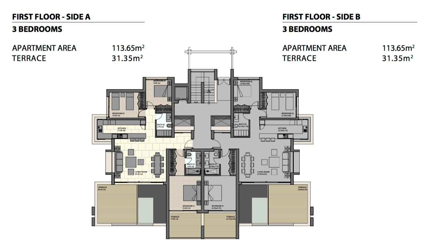 marbella club hills benahavis new golden mile appartementen penthouses te koop zeezicht verdieping 3slaapkamers