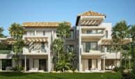 marbella club hills benahavis new golden mile appartementen penthouses te koop zeezicht vooraanzicht