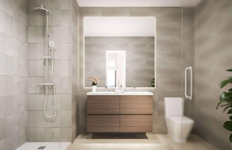 mirador de estepona golf nieuwbouw appartement te koop badkamer