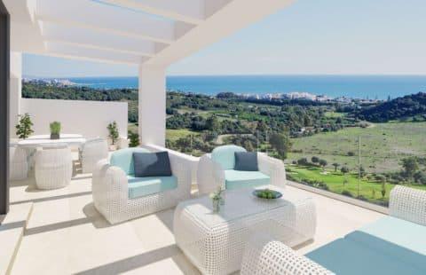 Mirador de Estepona Golf: panoramische zichten en rust (Estepona)