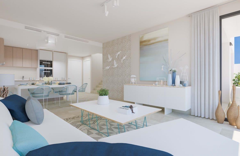 mirador de estepona golf nieuwbouw appartement te koop living