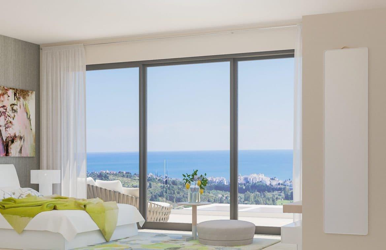 mirador de estepona golf nieuwbouw appartement te koop master slaapkamer