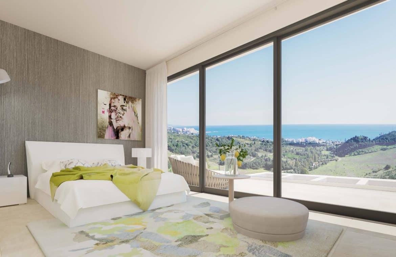 mirador de estepona golf nieuwbouw appartement te koop slaapkamer