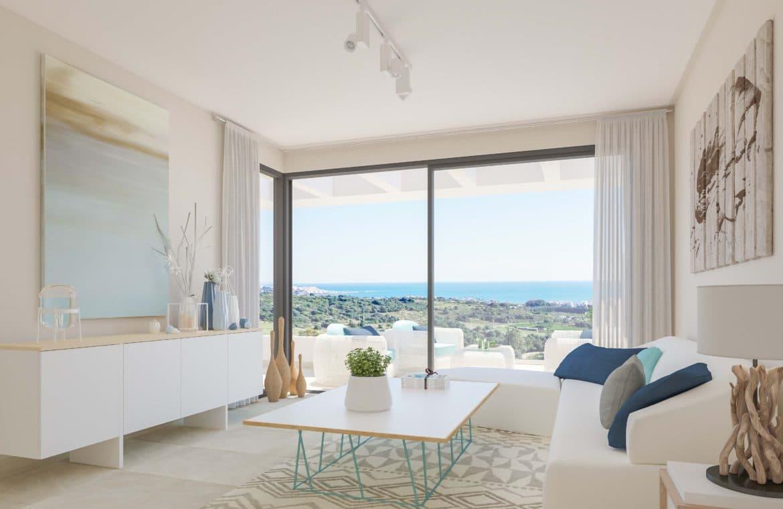 mirador de estepona golf nieuwbouw appartement te koop zicht