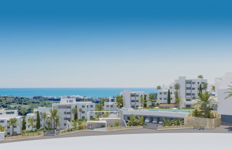 mirador de estepona golf nieuwbouw appartement te koop zichten