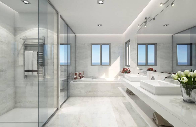 mirador de estepona new golden mile appartement penthouse te koop marbella badkamer master