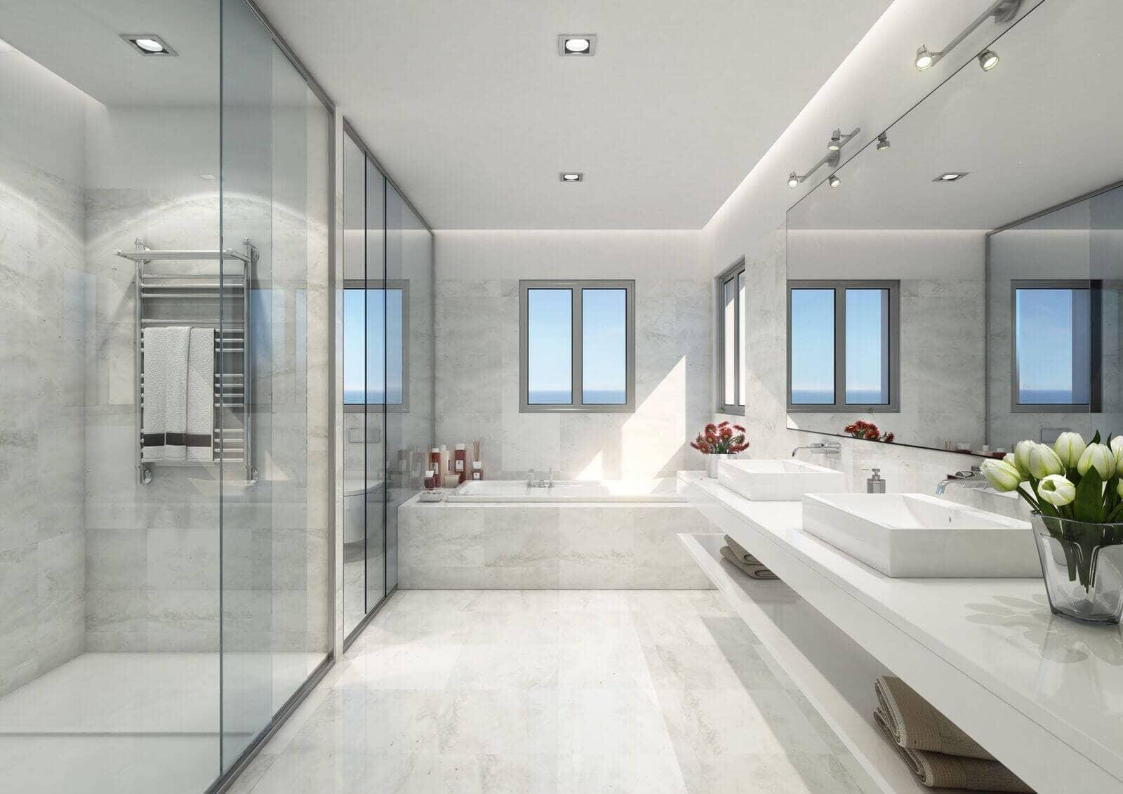 Mirador de estepona hills nieuwe appartementen met for Planner badkamer