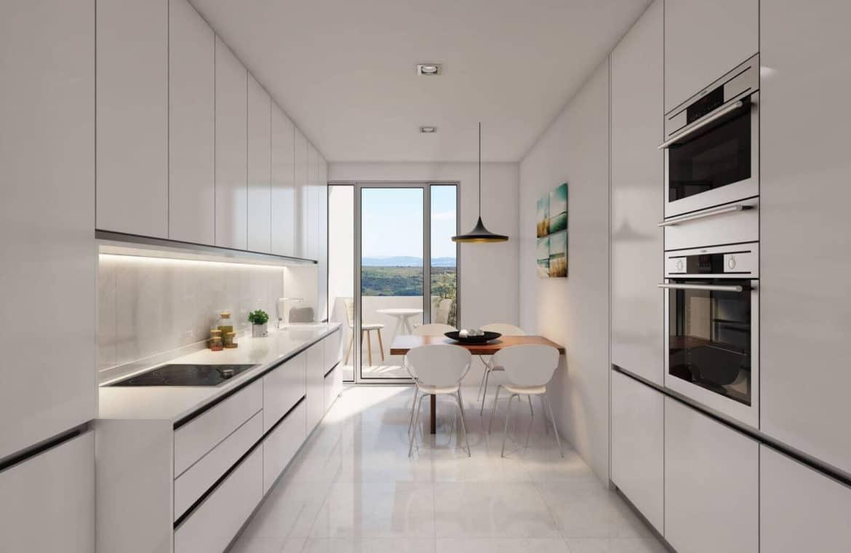 mirador de estepona new golden mile appartement penthpuse te koop marbella keuken