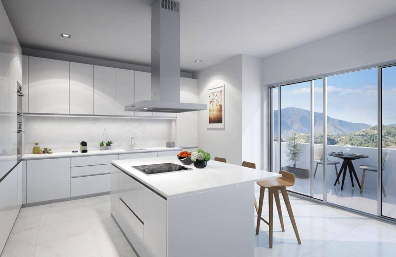 mirador de estepona new golden mile appartement penthpuse te koop marbella keuken-kopen