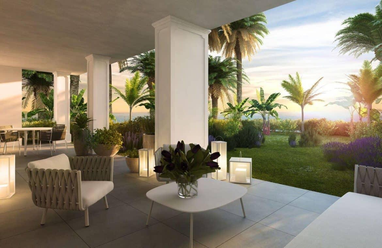 mirador de estepona new golden mile appartement penthpuse te koop marbella terras tuin zeezicht