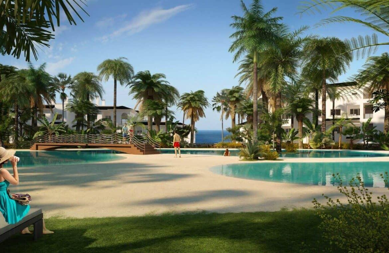mirador de estepona new golden mile appartement penthpuse te koop marbella zeezicht zwembad