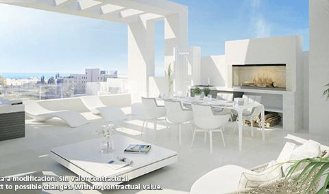 Mirador del Sol: penthouses op wandelafstand van de zee (Bel Air)