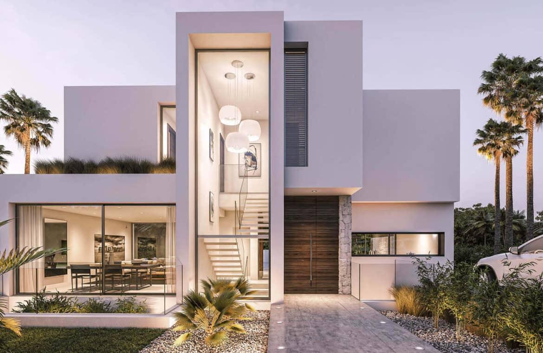 moderne villas in estepona boladilla village entree