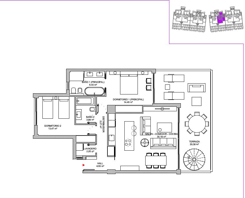 oasis325-selwo-grondplan-penthouse