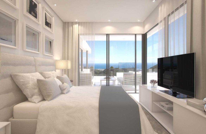 palo alto marbella appartement penthouse te koop bed