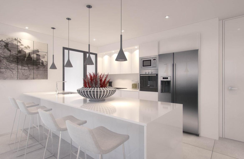 palo alto marbella appartement penthouse te koop keuken