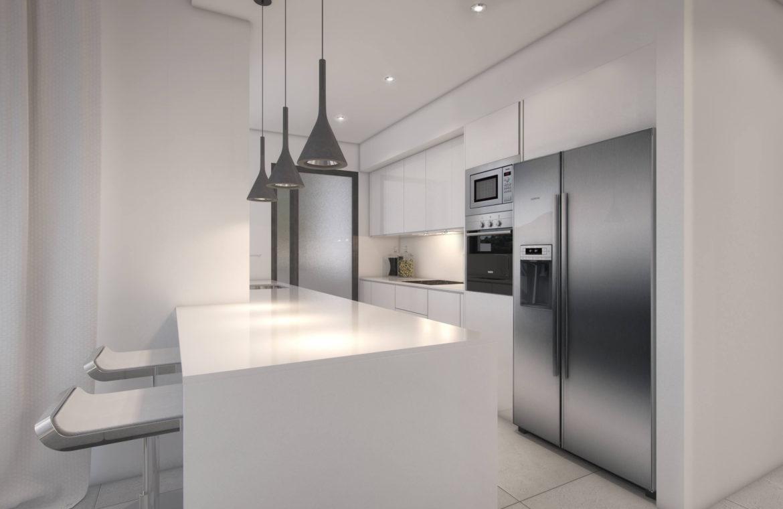 palo alto marbella appartement penthouse te koop keuken eiland