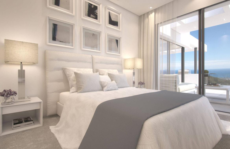 palo alto marbella appartement penthouse te koop slaapkamer