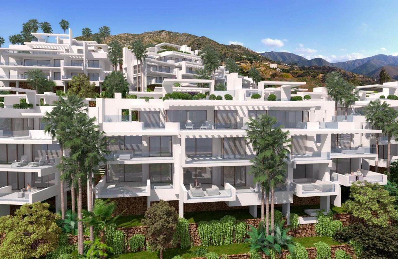 palo alto marbella appartement penthouse te koop vooraanzicht