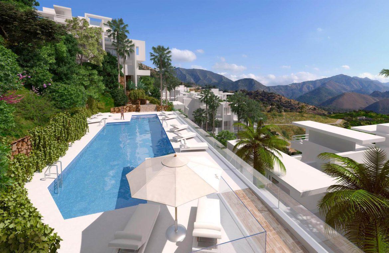 palo alto marbella appartement penthouse te koop zwembad