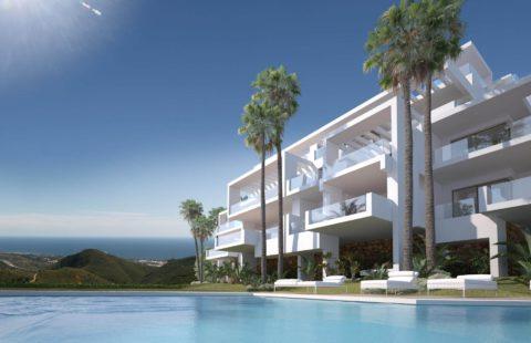 Palo Alto: superstrak nieuwbouw project net boven Marbella (Ojen)