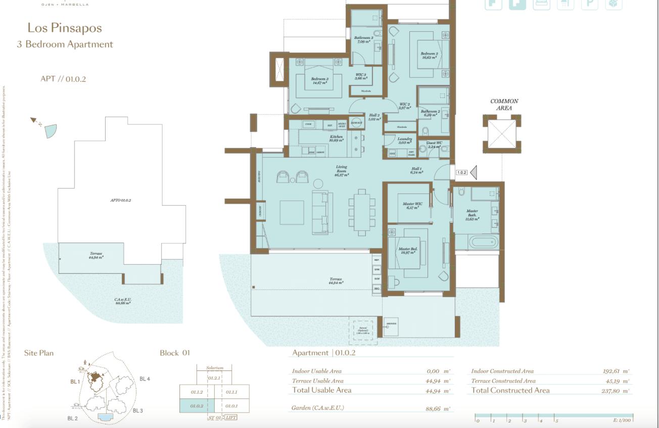 palo alto ojen marbella nieuwbouw resort luxe te koop appartement penthouse modern grondplan los pinsapos slaapkamers 3 gelijkvloers
