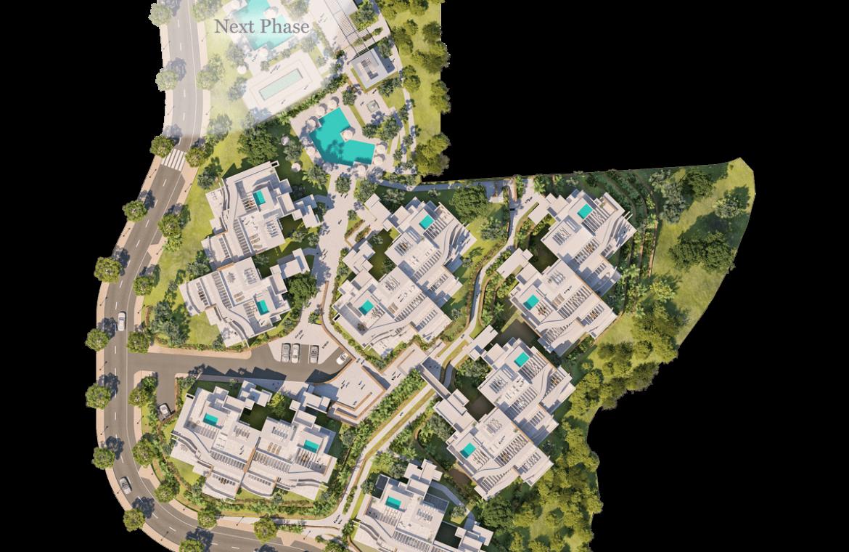 palo alto ojen marbella nieuwbouw resort luxe te koop appartement penthouse modern las jacarandas