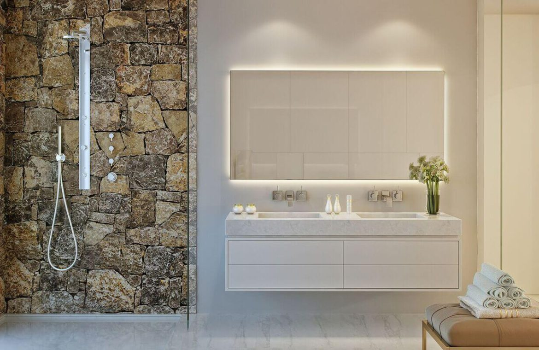 palo alto ojen marbella nieuwbouw resort luxe te koop appartement penthouse modern las jacarandas badkamer