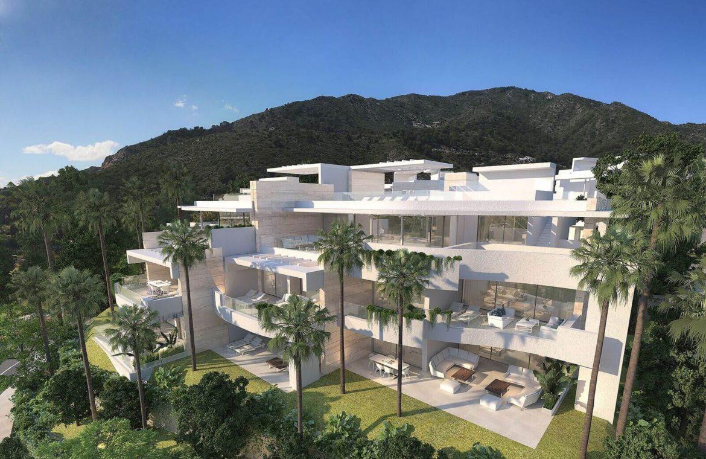 palo alto ojen marbella nieuwbouw resort luxe te koop appartement penthouse modern las jacarandas project