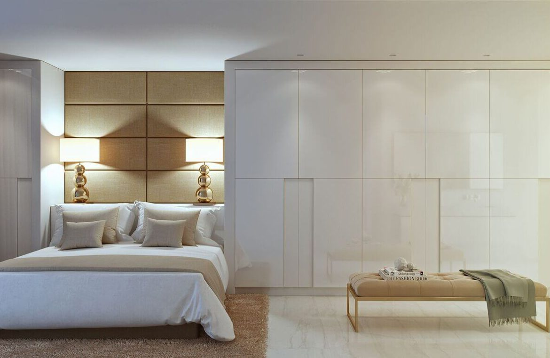 palo alto ojen marbella nieuwbouw resort luxe te koop appartement penthouse modern las jacarandas slaapkamer