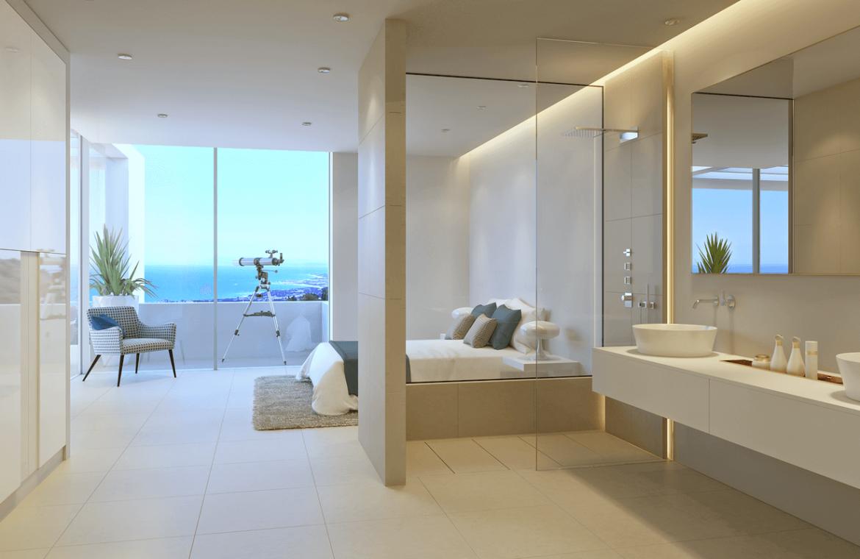 palo alto ojen marbella nieuwbouw resort luxe te koop appartement penthouse modern los eucaliptos slaapkamer