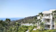 palo alto ojen marbella nieuwbouw resort luxe te koop appartement penthouse modern los eucaliptos tuin