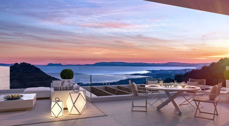 palo alto ojen marbella nieuwbouw resort luxe te koop appartement penthouse modern los pinsapos terras
