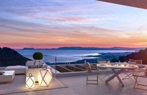 Los Pinsapos: moderne luxe penthouses vlakbij Marbella centrum
