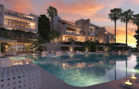 Los Pinsapos: modern nieuwbouw project net boven Marbella (Ojen)