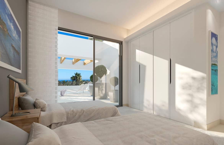 perlas del mar san pedro marbella kopen moderne villa slaapkamer