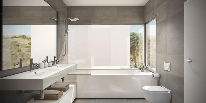 scenic appartement penthouse kopen estepona wandelafstand haven zeezicht badkamer