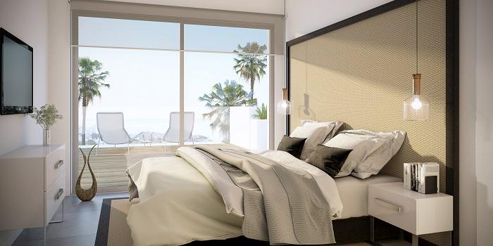 scenic appartement penthouse kopen estepona wandelafstand haven zeezicht bed