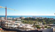 scenic appartement penthouse kopen estepona wandelafstand haven zeezicht bouw